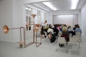Artist Talk in Haus am Waldsee, 30 September 2015