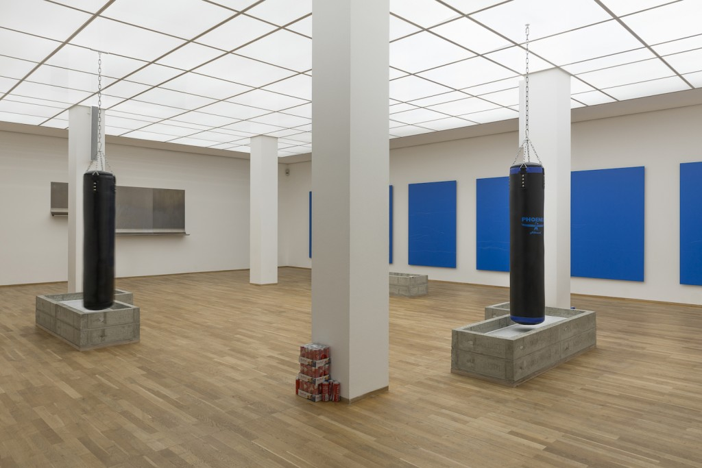 Anne Imhof, Preis der Nationalgalerie, installation view, Hamburger Bahnhof, Berlin, 2015. Photo by galerie Deborah Schamoni