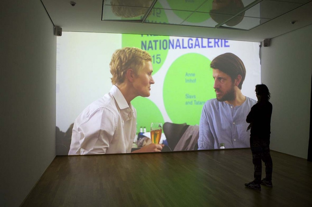 Christian Falsnaes- Moving Image @ Preis der Nationalgalerie 2015. Hamburger Bahnhof