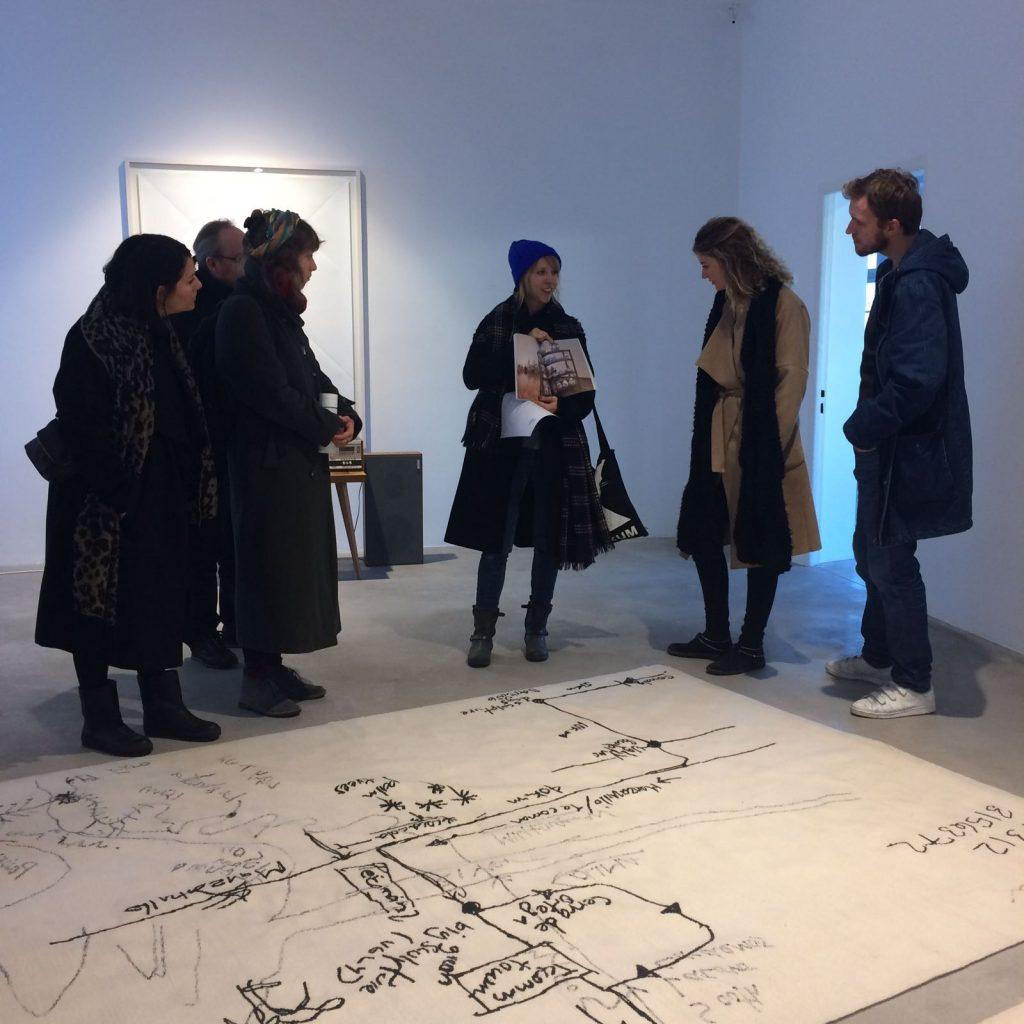 Christian Jankowski. Artist's Path, 2010 @Galerie Michael Fuchs